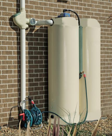 slimLine Tower Rainwater Harvesting System