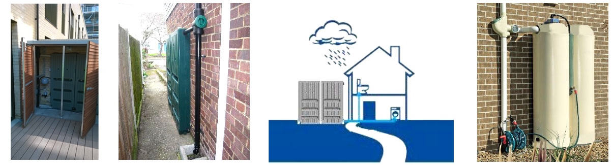 Aboveground Rainwater Harvesting Systems