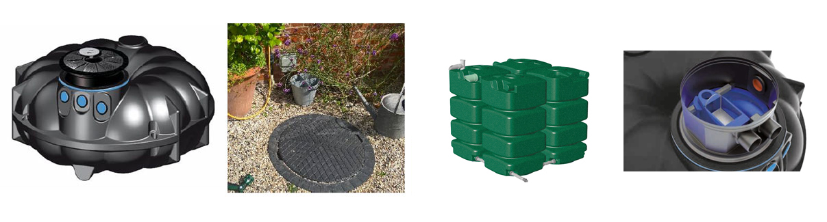 Belowground Rainwater Harvesting Systems