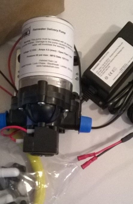 Low Voltage Pump & Installation Kit